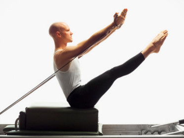 Pilates helps build a strong core