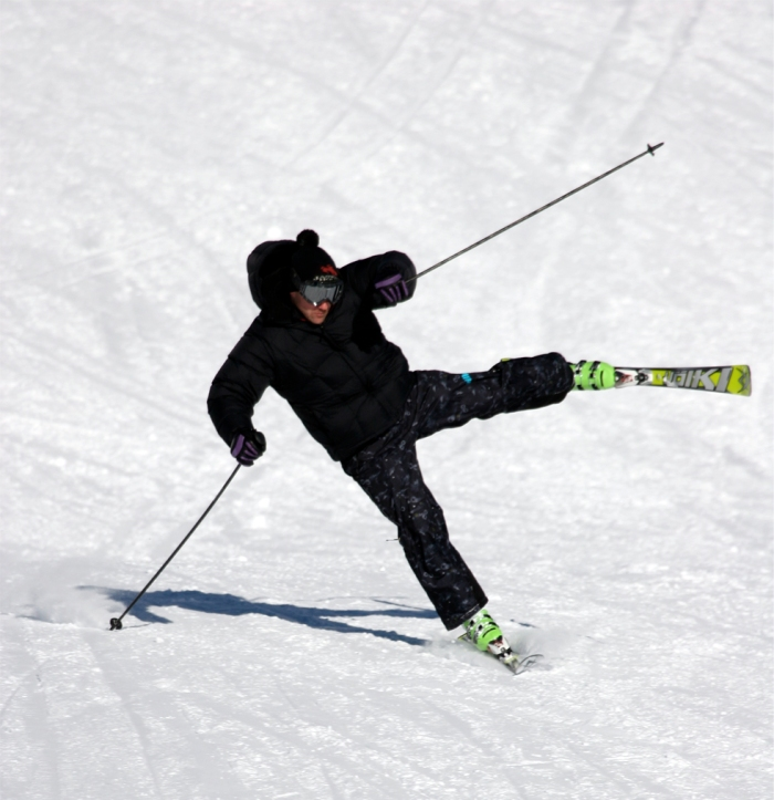 When a skier understands  and is able to perform the basics of a movement, drills are a great way to challenge and build up the accuracy and range of the movement.
