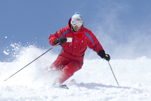 Skiing is made up of several simple movements that are performed progressively.